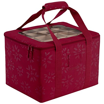 7. Classic Accessories Seasons Christmas Tree Ornament Organizer & Storage Bag