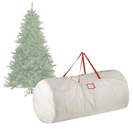 8. Elf Stor Premium White Holiday Christmas Tree Storage Bag