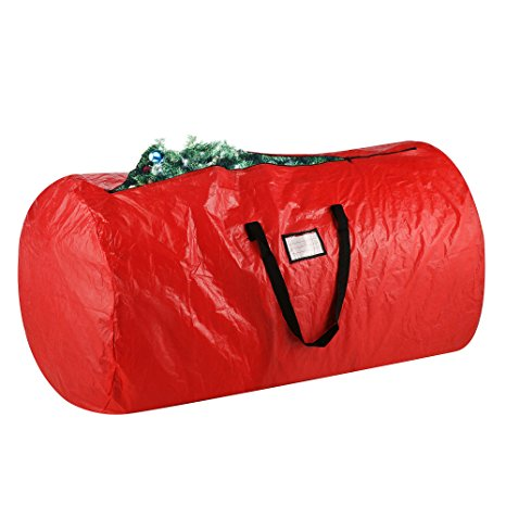 2. Elf Stor Premium Red Holiday Christmas Tree Storage Bag