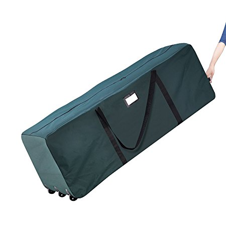 6. Elf Stor Rolling Duffle Christmas Tree Storage Bag
