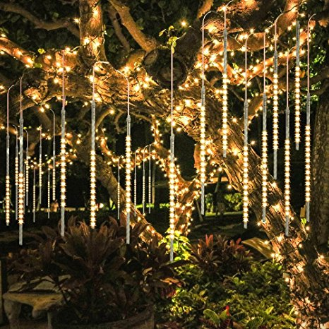 bluefire upgraded 50cm 10 tubes 540 led meteor shower rain lights