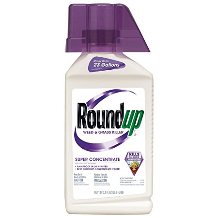 4. Roundup Weed and Grass Killer Super Concentrate, 35.2-Ounce