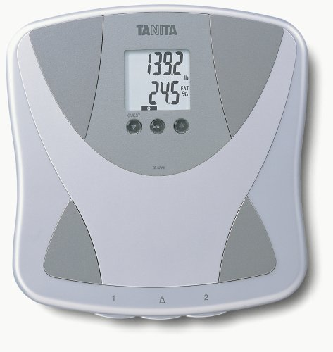 7. Tanita BF679W Duo Scale Plus Body Fat Monitor with Body Water