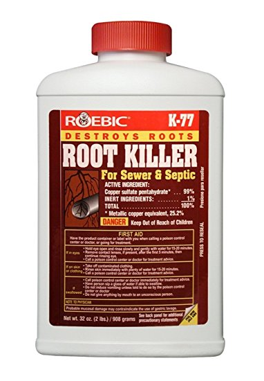 1. Roebic Laboratories K-77 Root Killer, 32OZ