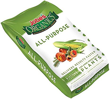 7. Jobe's Organics All Purpose granular fertilizer