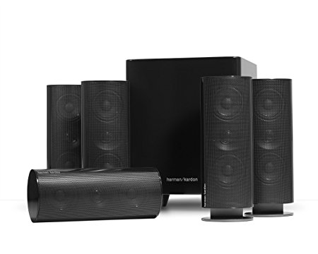 1. Harman Kardon HKTS 30BQ 5.1 Home Theater Speaker System