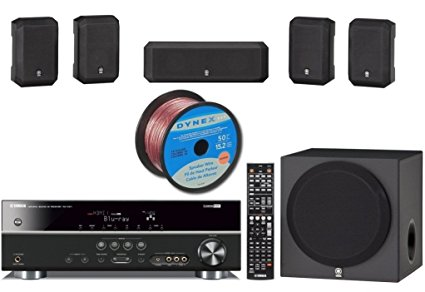 9. Yamaha Surround Realism 3D Ready Home Theater System