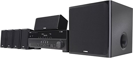 10. Yamaha YHT-497 5.1-Channel Home Theater System
