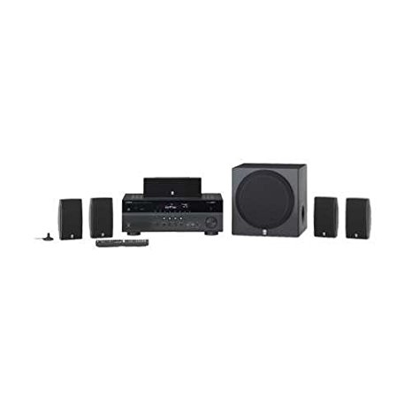 8. Yamaha 5.1 Channel 675W 3D Powerful Surround Sound Home Theater System