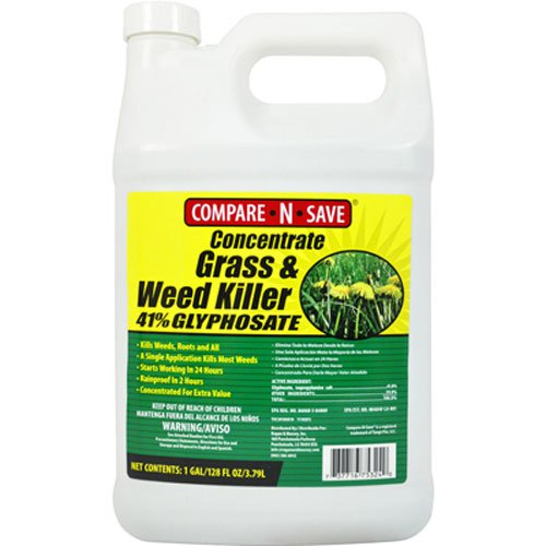 2. Compare-N-Save Concentrate Grass and Weed Killer, 41-Percent Glyphosate, 1-Gallon