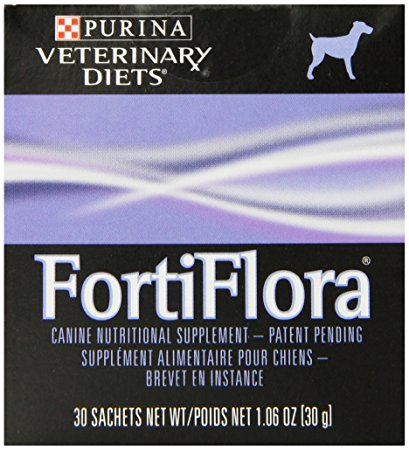 5. Purina Fortiflora Canine Nutritional Supplements