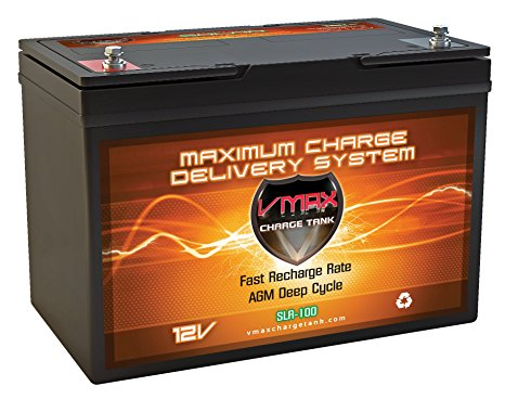 5.VMAXMB127 AGM Deep Cycle Group 27 Battery