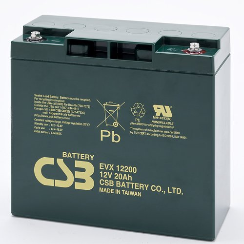 4.CSB EVX12200 Deep Cycle AGM Battery