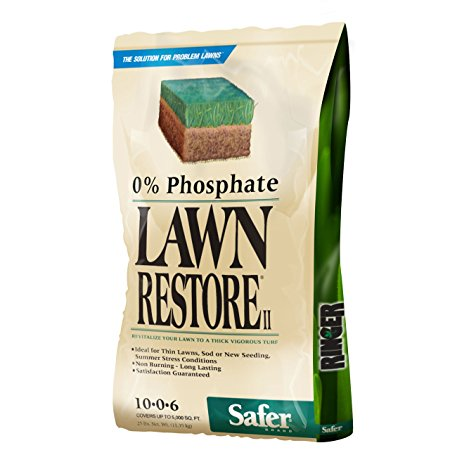 3. Safer Brand Ringer Lawn Restore, Lawn Fertilizer