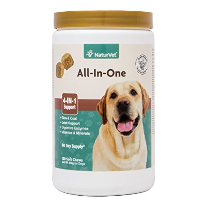 1. NaturVet for Soft Chews for Dogs