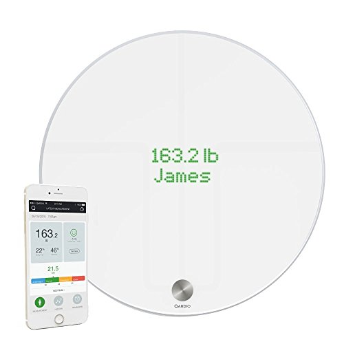 10. QardioBase Smart Digital Bathroom Scale