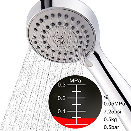 4. YOO.MEE High-Pressure Multi-functions Handheld Shower Head