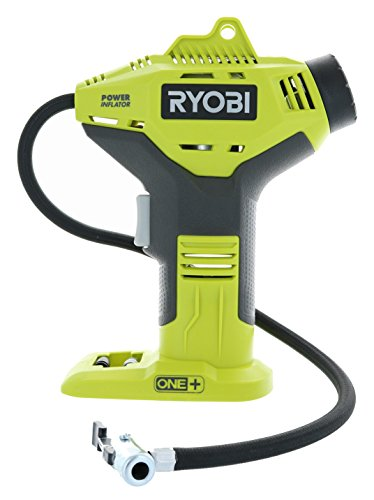 9. Ryobi P737 18V ONE+ Portable Cordless Power Inflator for Tires