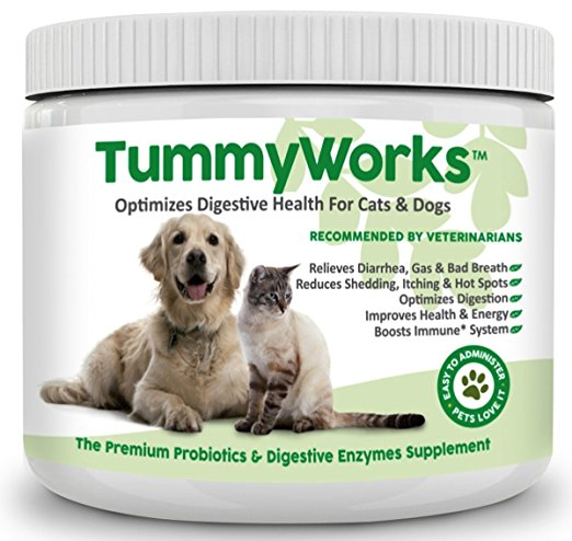 10. TummyWorks Probiotic for Cats & Dogs