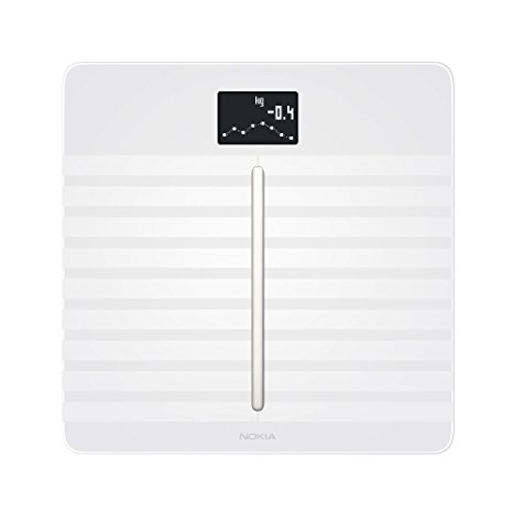 6. Nokia Body Cardio – Heart Health & Body Composition Wi-Fi Scale in white