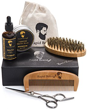 1. Rapid Beard Trimming and Grooming Kit