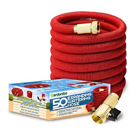 5. Heavy Duty 50ft Expanding Garden Water Hose
