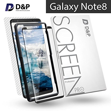 8. D&P 3D High Transparency 9H Tempered Glass Screen Protector