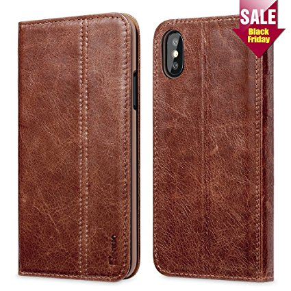 2. Benuo Vintage Book Series iPhone X Case