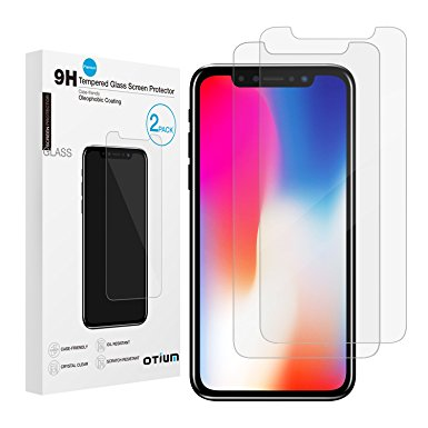 9. iPhone X Screen-Protector (2 Pack)