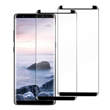 5. Samsung Galaxy Note 8 Good smiley Full Coverage Tempered Glass Screen Protector