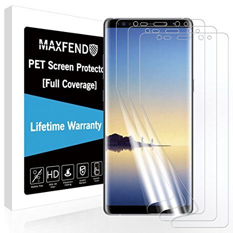 4. MAXFEND [3 PACK] For Samsung Galaxy Note 8 Screen Protector
