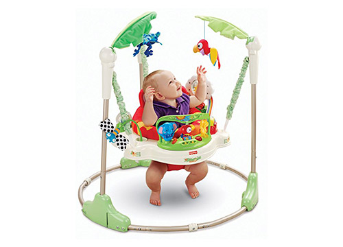 1.Fisher price rainforest-jumperoo