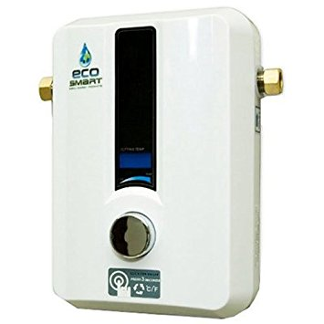 2. EcoSmart ECO 11 Electric Tankless Water Heater, 13KW at 240 Volts