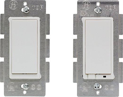 8. Latest Z-Wave Plus GE by Jasco Wireless Lighting Control Three-Way On/Off Kit