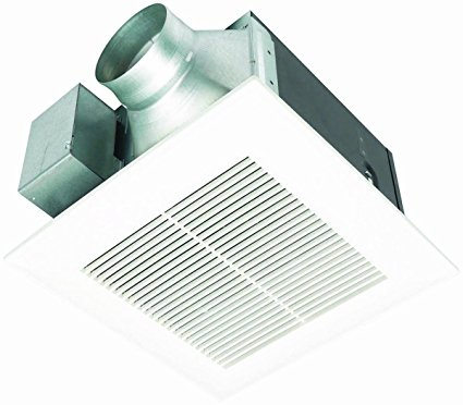 9. Panasonic FV-11VQ5 WhisperCeiling 110 CFM Ceiling Mounted Fan