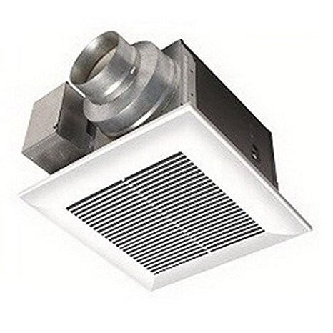 6. Panasonic FV-08VQ5 WhisperCeiling 80 CFM Ceiling Mounted Fan