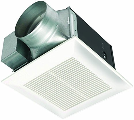 5. Panasonic FV-15VQ5 WhisperCeiling 150 CFM Ceiling Mounted Fan