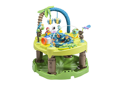 10. Evenflo Exersaucer-triple fun active-learning center