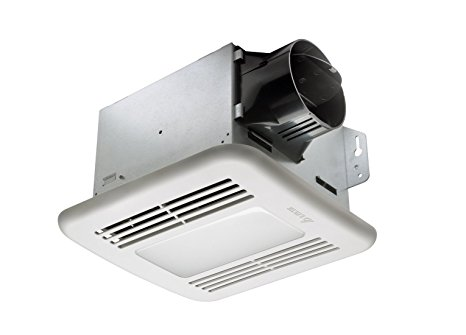 7. Delta BreezGreenBuilder GBR80LED 80 CFM Exhaust Bath Fan/Dimmable LED Light