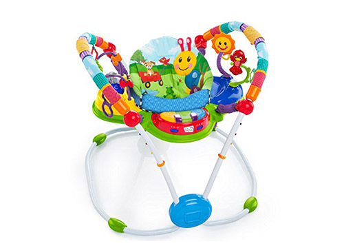 4. Baby Einstein activity-jumper special edition/neighborhood friends