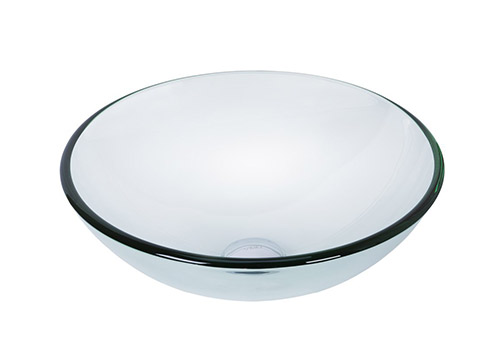 9. Vigo-crystalline glass sink