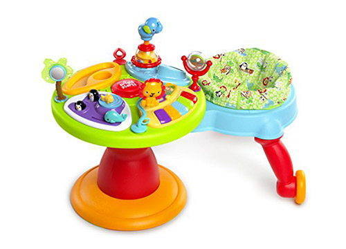 6. Bright starts around-we go 3 in 1-activity center/zippity zoo