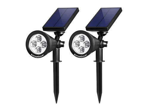 9. InnoGear Upgrade solar-lights 2-in-1