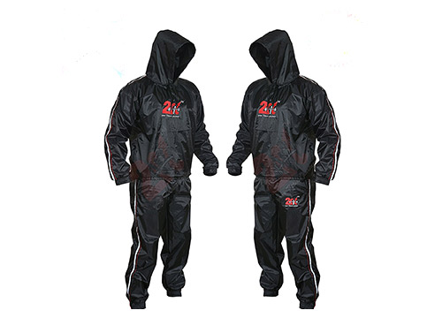 9. 2Fit Heavy Duty Sweat Suit Gym