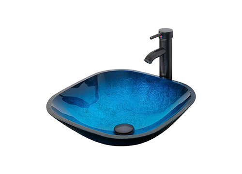 10. Eclife-open blue and square sink