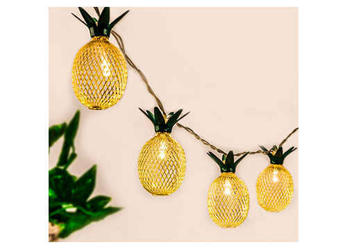 3. Pineapple String Lights