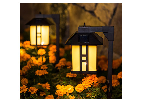 8. Gigalumi solar powered-path lights