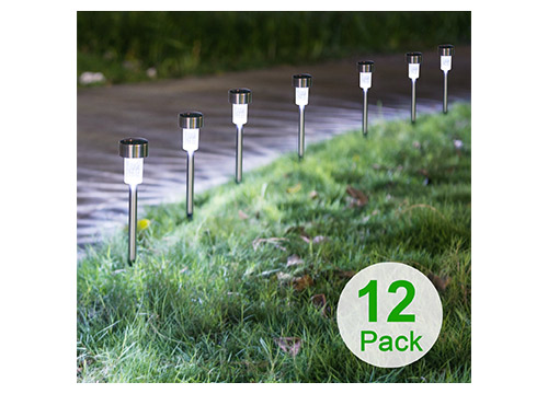 3. Sunnest 12 pack-solar lights outdoor