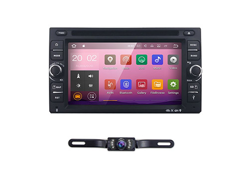 "7. 6.2"" Android 7.1 double din in dash radio car video receiver"