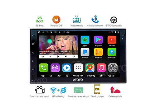 9. ATOTO A6 2DIN Android Car Navigation Stereo